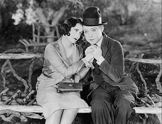 Tramp, Tramp, Tramp - Still with Joan Crawford and Harry Langdon