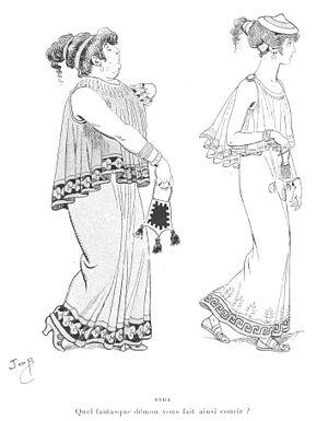 Job (illustrator) - Image: Job Le Chariot de Thespis H Tp 12