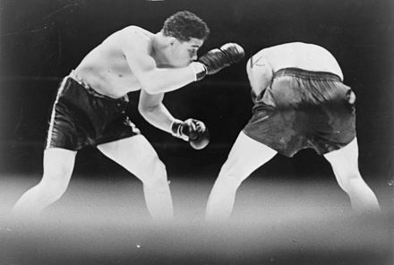 Louis vs. Schmeling, 1936 Joe Louis - Max Schmeling - 1936.jpg