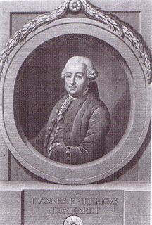 Johann Friedrich Domhardt German politician