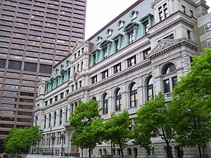 Massachusetts Supreme Judicial Court - John Adams Courthouse, home to the SJC
