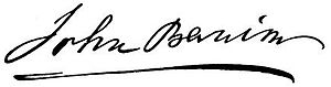 John Banim - Image: John Banim Signature