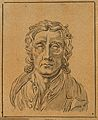 John Locke; frontal view of bust. Drawing, c. 1789, after D. Wellcome V0009109ET.jpg