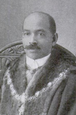 John r. archer, mayor of battersea 1914   detail