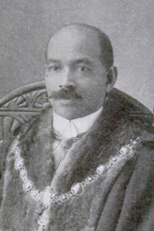 John Archer (British politician) - Image: John R. Archer, Mayor of Battersea 1914 detail