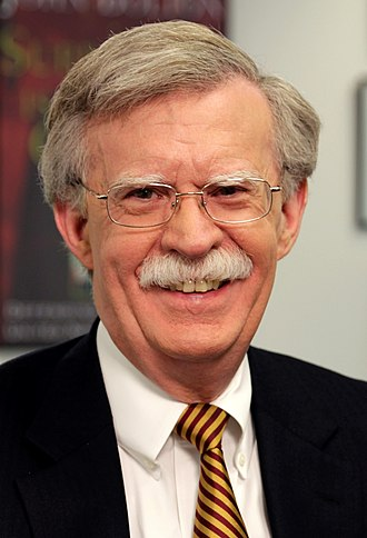 National Security Advisor (United States) - Image: John R. Bolton official photo (cropped)
