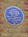 John Richard Archer blue plaque.jpg