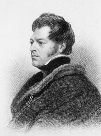 John Richardson (naturalist) - John Richardson, 1828 by Thomas Phillips, R.A., engraved by Edward Finden