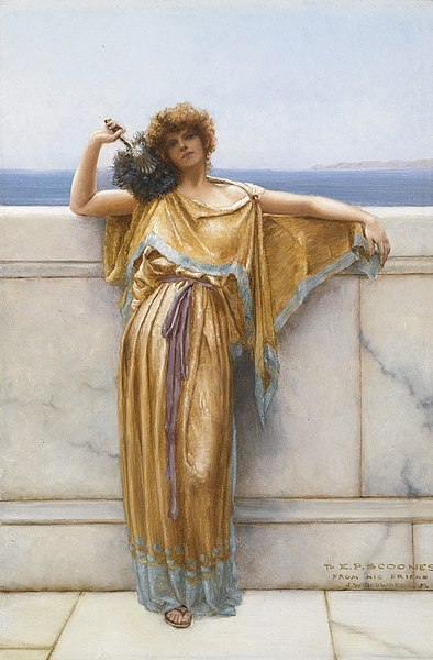 File:John William Godward - Clymene, 1892.jpg