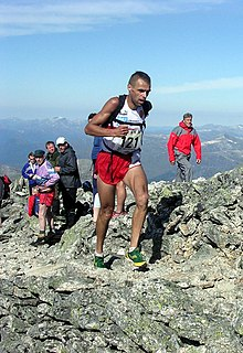 Jon Tvedt Mountain runner