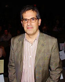 Lethem at the March 2012 National Book Critics Circle Awards