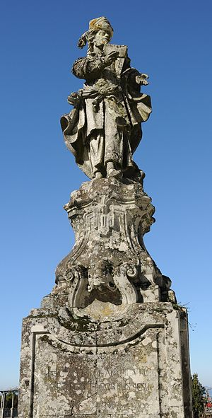 English: Statue of Joseph of Arimathea in Bom ...