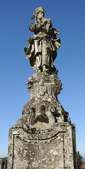 English: Statue of Joseph of Arimathea in Bom ...