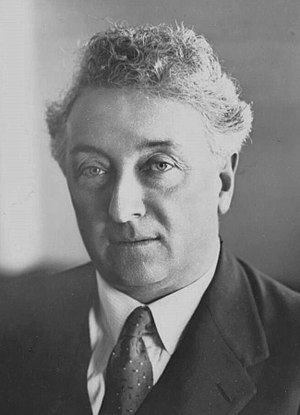 Great Depression in Australia - Joseph Lyons, popular United Australia Party Prime Minister from 1932-1939. The Lyons Government supported the Premiers Plan and blocked Lang's efforts to avoid debt repayments.