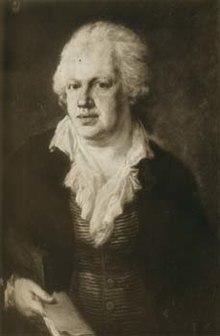 Joseph Marius von Babo, Ölgemälde von Johann Georg Edlinger (Quelle: Wikimedia)