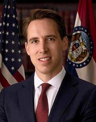 United States congressional delegations from Missouri - Senator Josh Hawley (R)