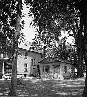 Joshua Reed Giddings - Giddings Law Office in Ohio (1936 Nat'l Park Service photo)