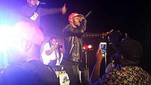 Jovi (musician) - Jovi performing at FK Fest, Yaoundé, February 12, 2016