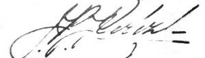 Juan Bautista Pérez - Image: Juan Bautista Pérez signature
