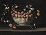 Juan de Zurbarán - Flowers and Fruit in a China Bowl - 1947.511 - Art Institute of Chicago.jpg