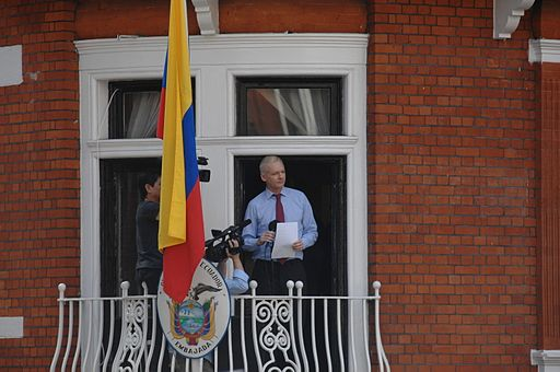 Julian Assange in Ecuadorian Embassy
