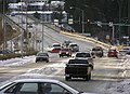 Juneau-Douglas Bridge Winter traffic 04.jpg