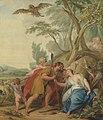 Jupiter, vermomd als herder, verleidt Mnemosyne, godin van het geheugen Rijksmuseum SK-A-3886.jpeg