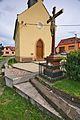 Kříž před kaplí, Jabloňany, okres Blansko.jpg