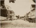KITLV - 39021 - Muller, Julius Eduard - Paramaribo - Gravenstraat in Paramaribo, seen from the Oranjestraat - circa 1885.tif