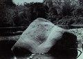 KITLV - 407987 - Demmeni, J. - Batu Kalong; boulder carved with figures in Cehan, tributary of the Upper Mahakam in Central Borneo - 1896-1897.tif
