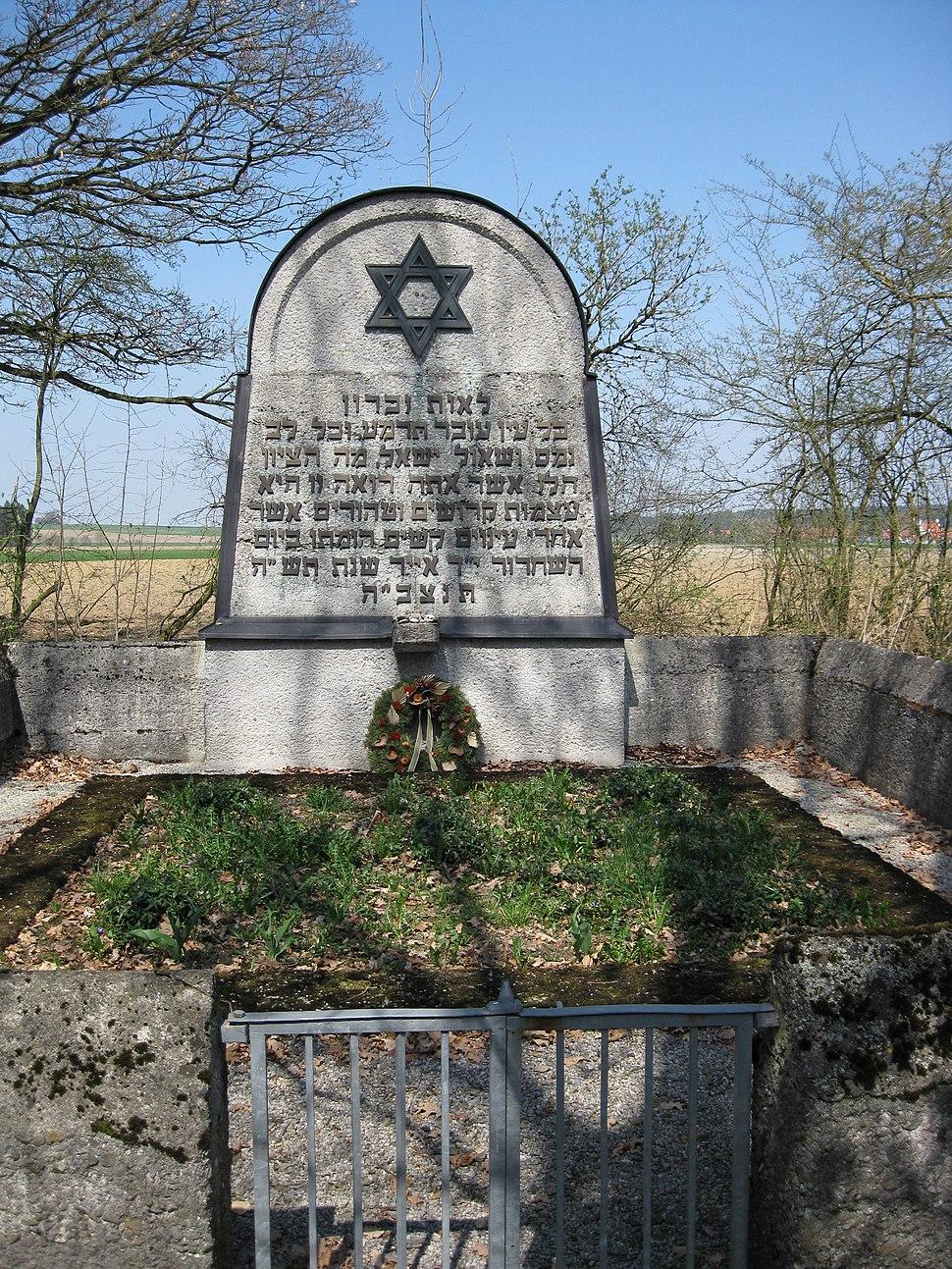 KZ Friedhof Schwabhausen
