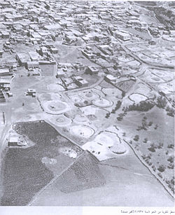 Kafr Sabt, from the air, 1937