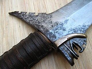 Kalis seko kris moro sword 1b