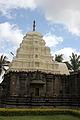 Kalleshvara temple shrine and tower at Ambali.JPG