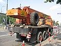 KamAZ-43118 crane truck in Kraków.jpg