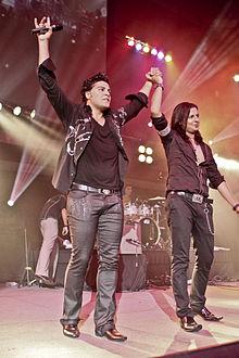 کامران و هومن در کنسرت مالزی ۲۰۱۰
