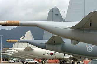 Lockheed CP-140 Aurora - CP-140s and Korean P-3s at Kaneohe Marine Corps Base in Hawaii.