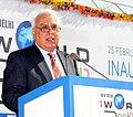 Kapil Sibal addressing at the inauguration of the 20th New Delhi World Book Fair-2012, at Pragati Maidan, in New Delhi on February 25, 2012.jpg