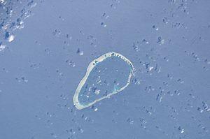 Kapingamarangi - ISS Image of Kapingamarangi