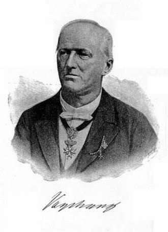 Karl Freiherr von Vogelsang - Karl von Vogelsang