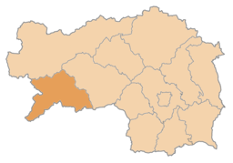 Bezirk Murau location map
