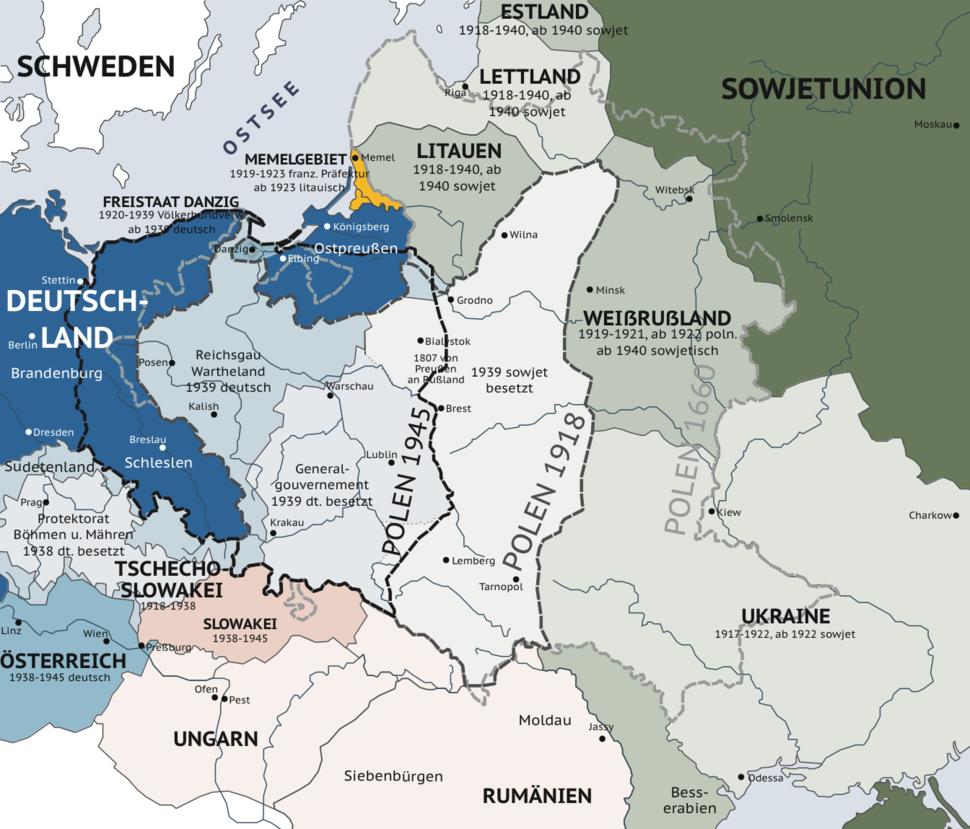 Karte viertepolnischeteilung