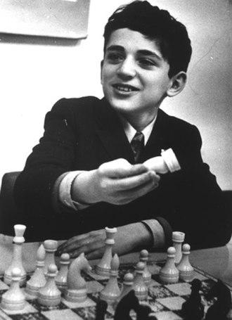 Garry Kasparov - Kasparov at age 11, Vilnius, 1974