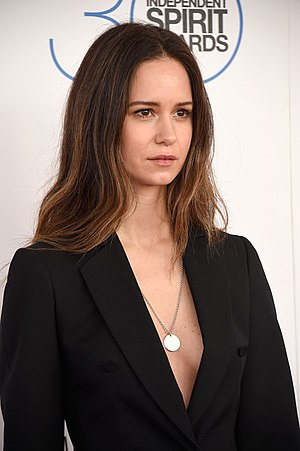 Katherine Waterston - Waterston at the Film Independent Spirit Awards, February 2015