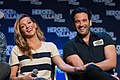 Katie Cassidy and Colin Donnell HVFF 2016 02.jpg