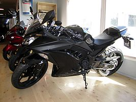 Kawasaki Ninja 300 2013 Showroom.JPG