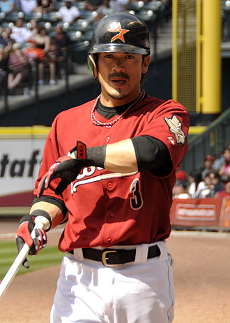 Kazuo Matsui - Matsui with the Houston Astros in 2010