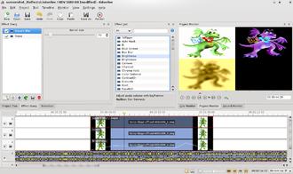 Kdenlive - Kdenlive video effects