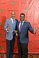 Keegan-Micahel Key and Jordan Peele at the 73rd Annual Peabody Awards.jpg