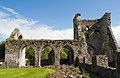 Kells Priory North Transept and Crossing Tower 2017 09 13.jpg